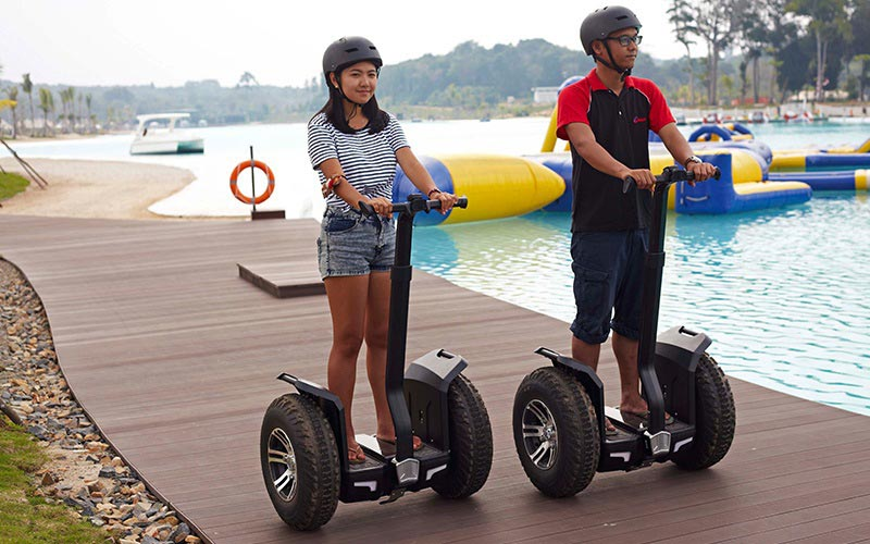 2-Wheeler Personal Transportation ata best resort in bintan