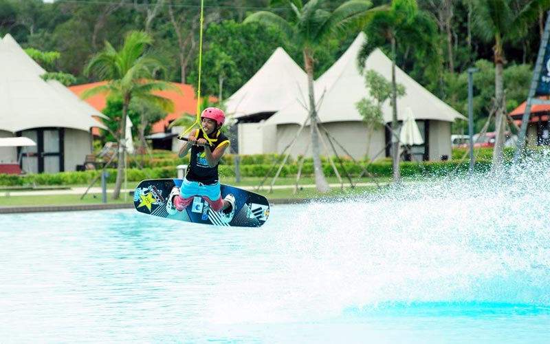 Chill Cove Wake Park di treasure bay
