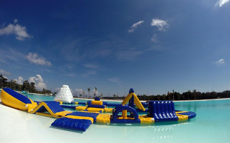 Water Sports Park at best resort in bintan