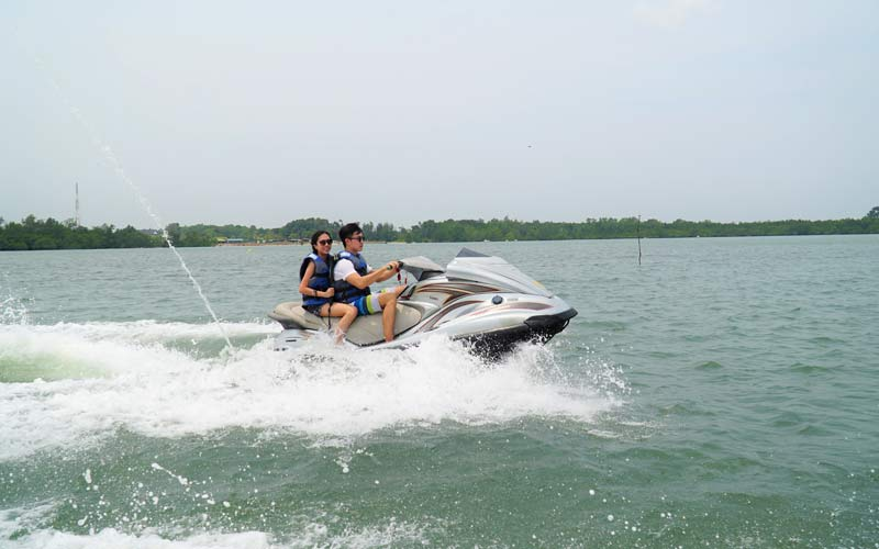 jet ski di treasure bay bintan