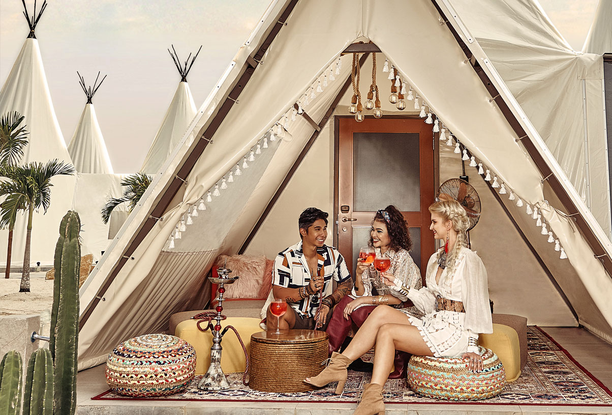 best glamping resort in bintan